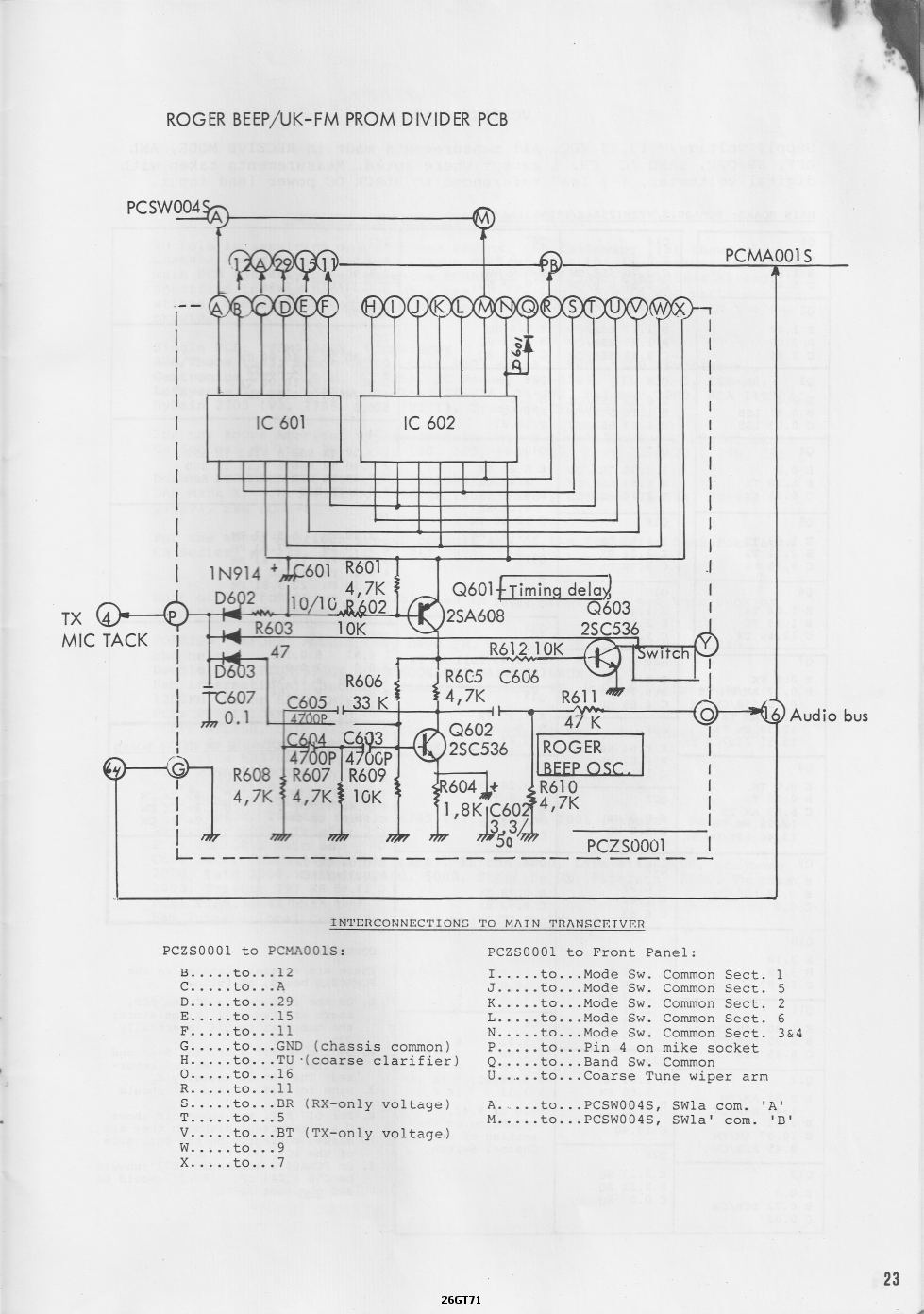 Cybernet Esm 23 on Schematic Diagram